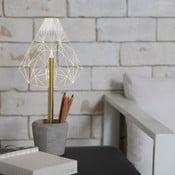 Náladové svetlo s kalíškom na ceruzky Wired B