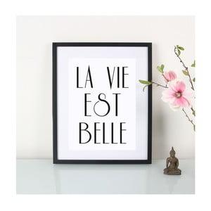 Plagát La vie est belle, A3