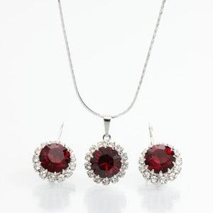 Set náhrdelníka a náušníc s krištáľmi Swarovski Elements Laura Bruni Sia