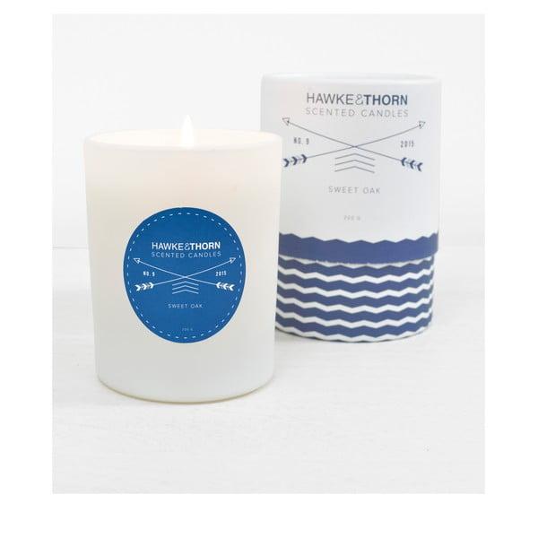Vonná sviečka s vôňou sladkého dubu Hawke&Thorn