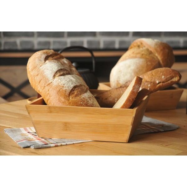 Bambusová miska na chlieb Bambum Solly, 24 cm