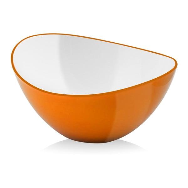 Livio, šalátová misa 16 cm - oranžová