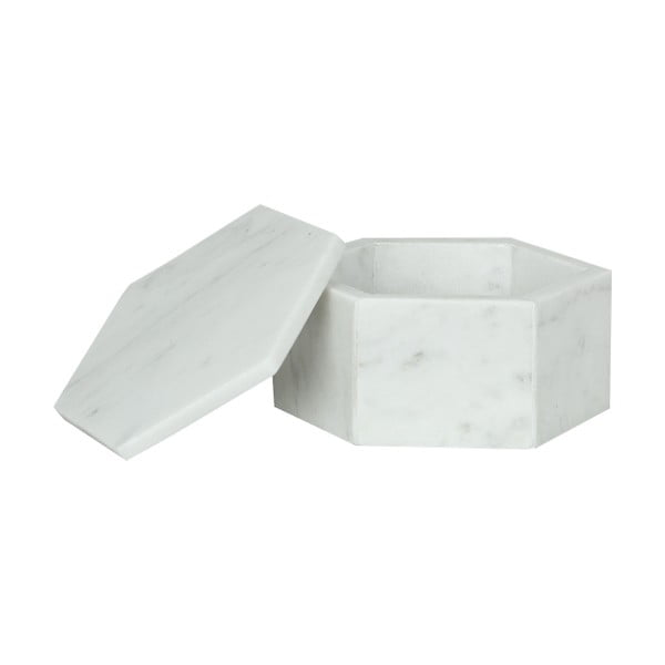 Mramorový Box Signe White Small