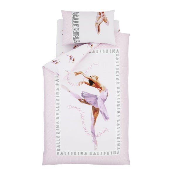 Detské obliečky Catherine Lansfield Ballerina, 135×200cm