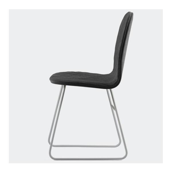 Stolička Mannequin V, čierna