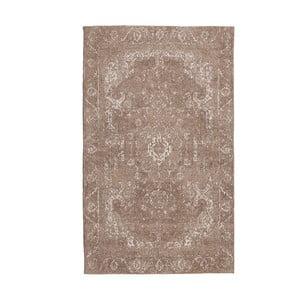 Koberec Chenille, 70x110 cm, hnedý