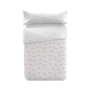 Obliečky Pooch Paper Dreams Coral, 155x220cm