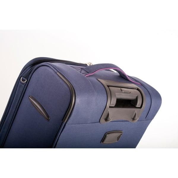 Sada 3 kufrov Jaslen, modrá