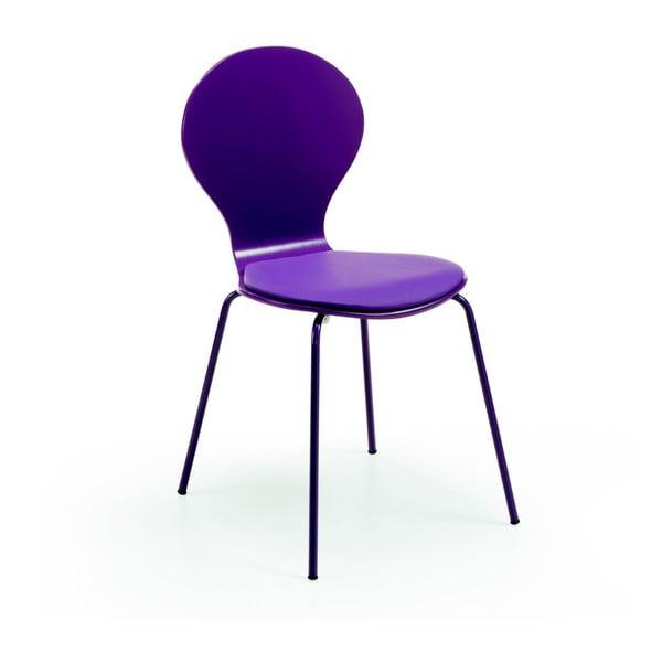 Stolička  Jazz, fialová