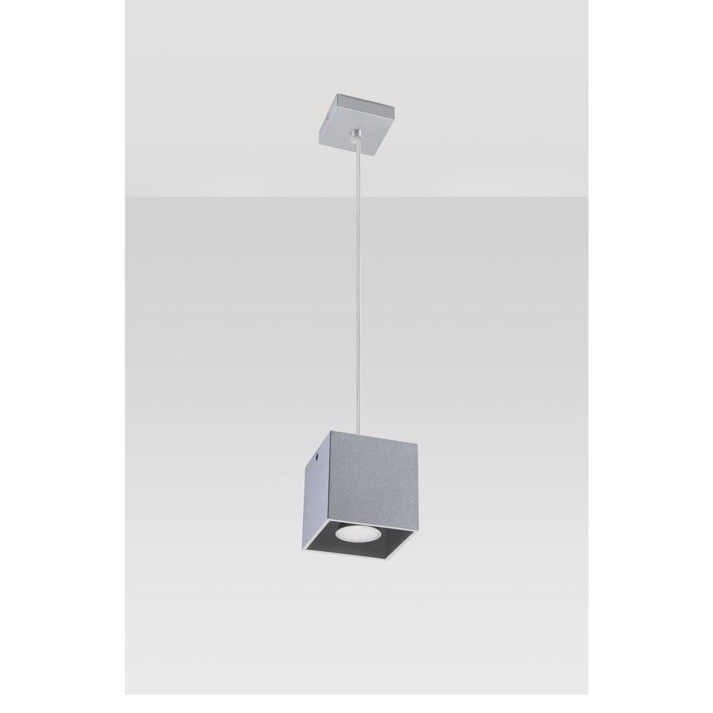 Sivé závesné svetlo Nice Lamps Geo