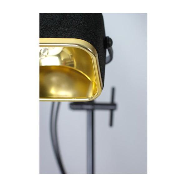 Stolová lampa Mob Velvet, čierna