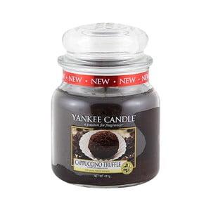 Vonná sviečka Yankee Candle Kávová Pralinka, doba horenia 65 - 90 hodín