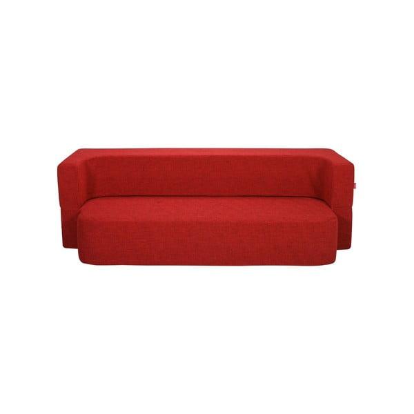 Rozkladacia pohovka Tiramisu, červená