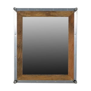 Zrkadlo z mangového dreva SOB Hemingway