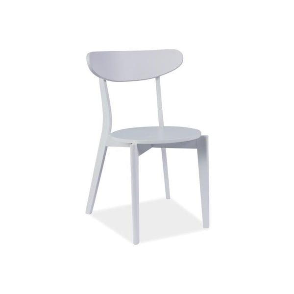 Sada 2 jedálenských stoličiek Coral White