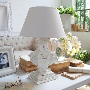 Stolná lampa Shabby White