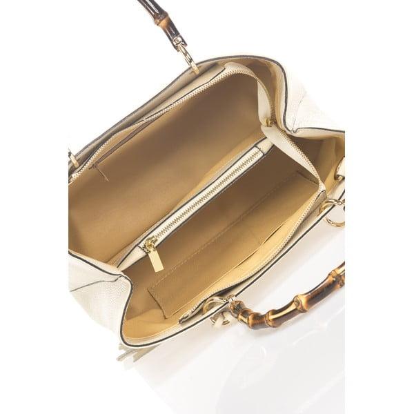 Kožená kabelka Markese 5028 Beige