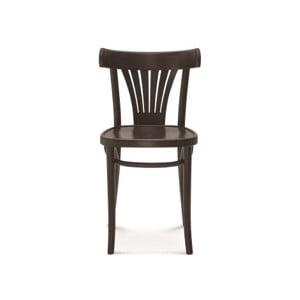 Čierna drevená stolička Fameg Mathias