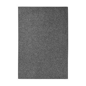 Antracitovočierny koberec BT Carpet, 160 × 240 cm