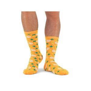Unisex polievkové ponožky v plechovke Luckies of London Carrot & Corriander