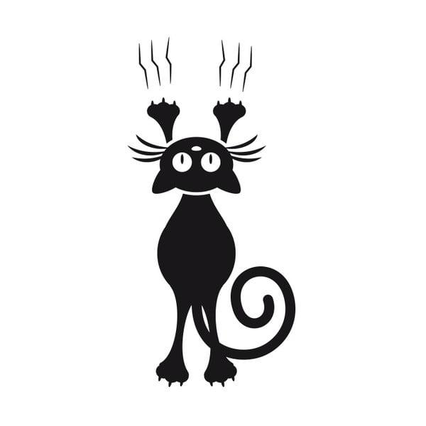 Samolepka Fanastick Cat And The Door