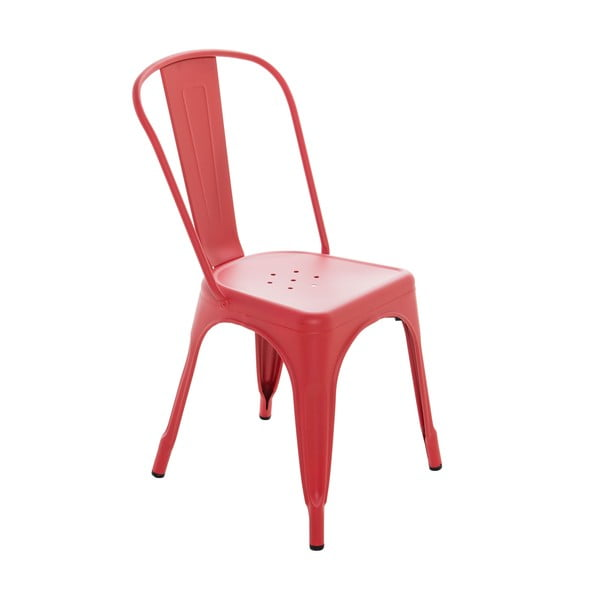 Stolička InArt Antique, červená