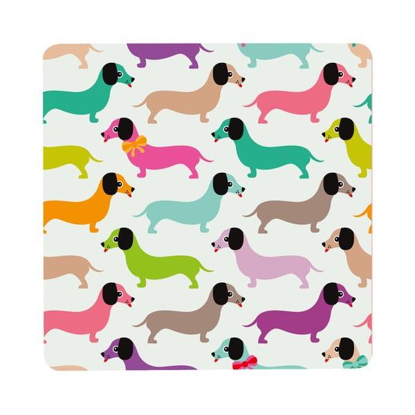 Stolík Daschshunds In Colours