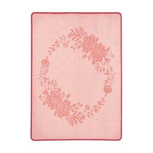 Detský ružový koberec Zala Living Blossom, 100 × 140 cm