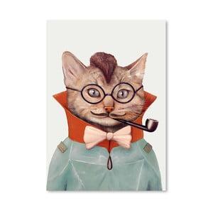 Plagát  Eclectic Cat, 30x42 cm