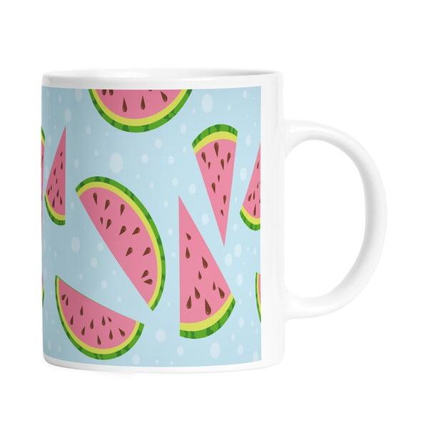 Keramický hrnček Yummy Watermelon, 330 ml