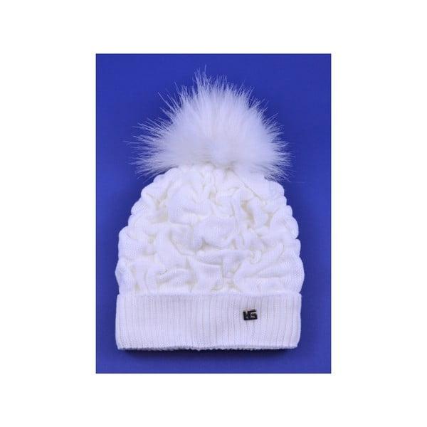 Dámska čapica Kora, biela