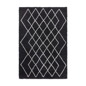 Antracitový koberec Elle Decor Passion Bron, 160×230 cm
