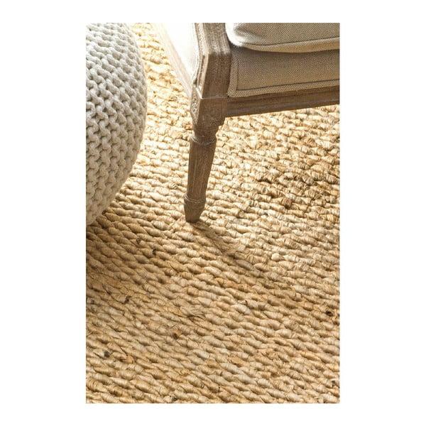 Ručne tkaný koberec nuLOOM Fluffy Natural, 152 x 244 cm