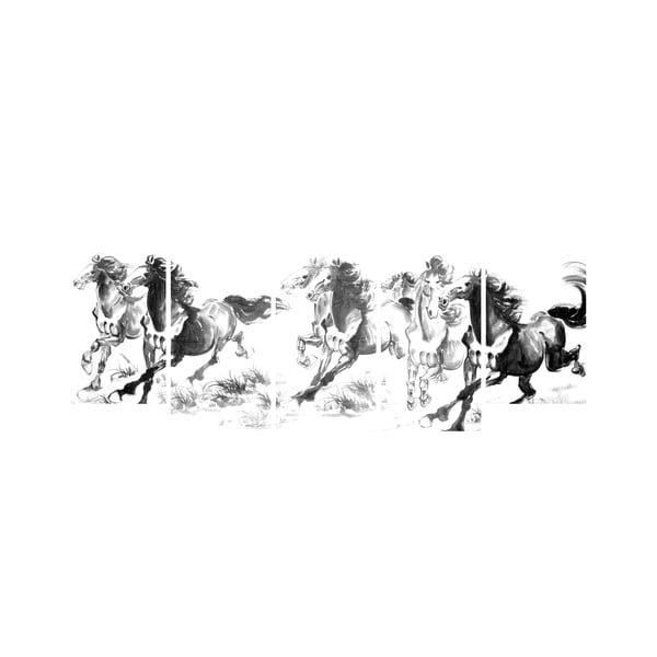 Viacdielny obraz Black&White no. 30, 100x50 cm