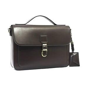 Elegantná taška cez rameno Bobby Black - Coffee