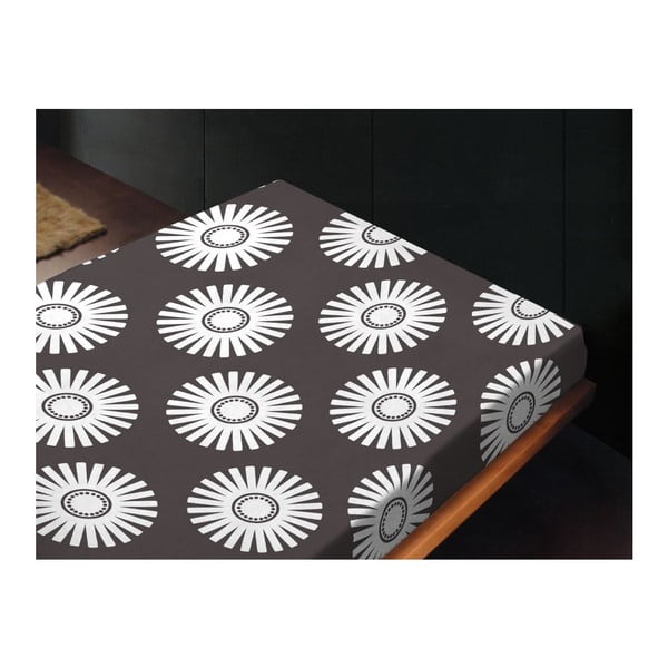 Neelastická posteľná plachta Abda Unico, 180x260 cm