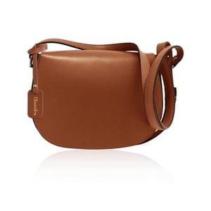 Hnedá kožená kabelka Maison Bag Dallas