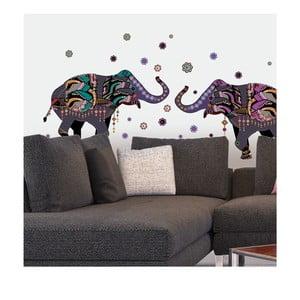 Samolepka Dancing Elephants