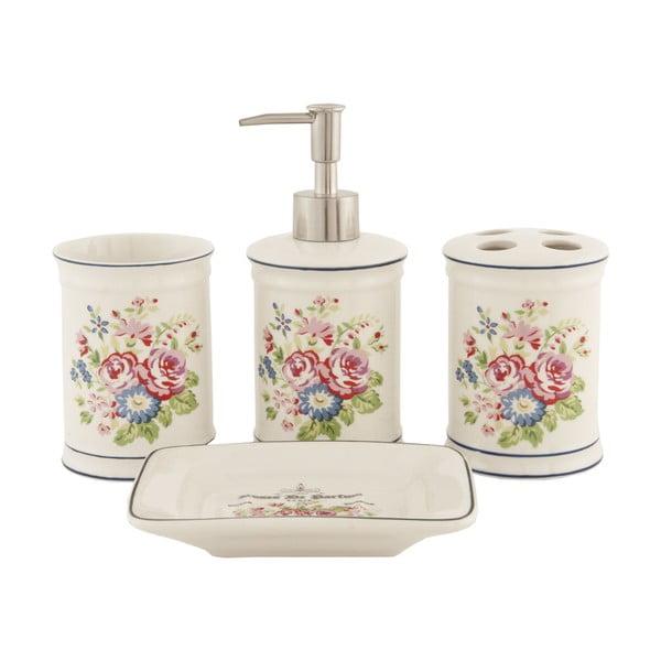 Kúpeľňový set Floral (4 ks)
