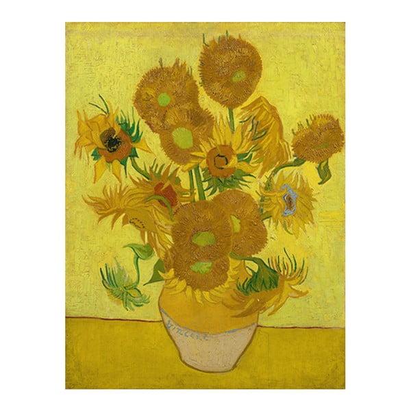 Obraz Vincenta van Gogha - Sunflowers, 40x30 cm