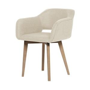 Krémová jedálenská stolička My Pop Design Oldenburg