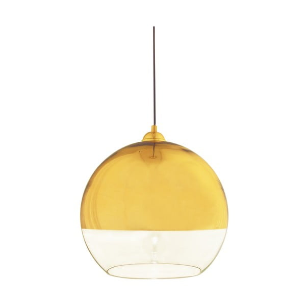 Závesné svietidlo Scan Lamps Lux Gold, ⌀35cm