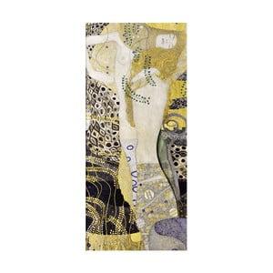 Obraz Gustav Klimt - Water Serpents, 70x30cm