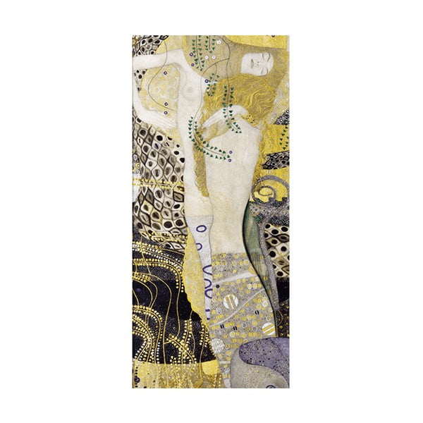 Obraz Gustav Klimt - Water Serpents, 70x30cm