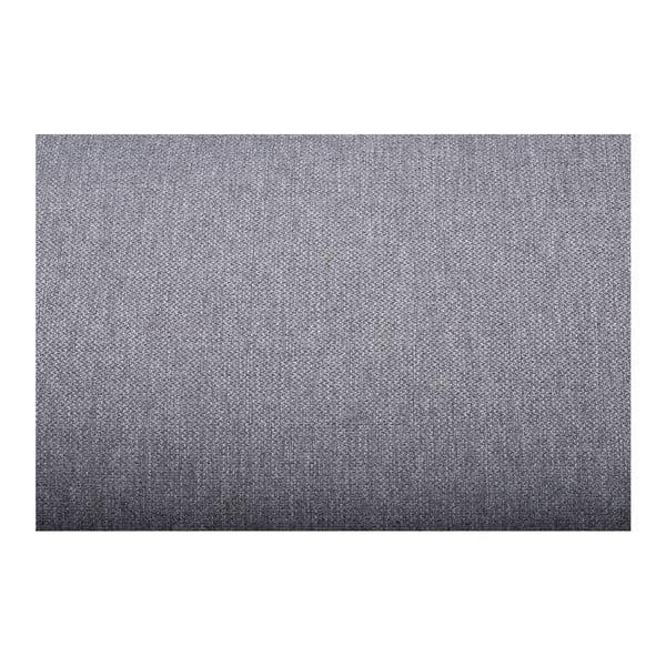 Sivá pohovka Softnord Troja, pravý roh