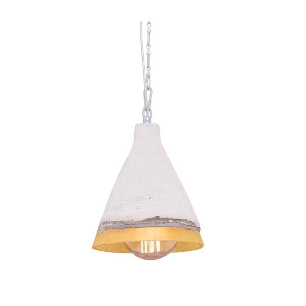 Závesné svetlo s mramorovým tienidlom Flash, 17 cm