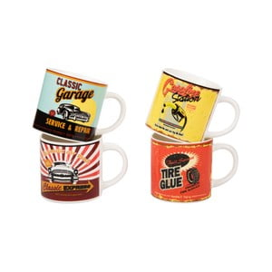 Sada 4 hrnčekov On The Way