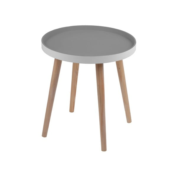 Stolík Simple Table 48 cm, sivý