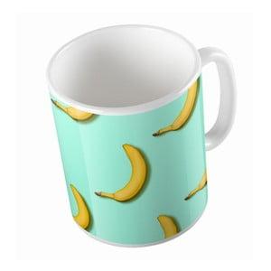 Keramický hrnček Bananas In Mint, 330 ml
