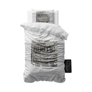 Obliečky z mikroperkálu Sleeptime Rustic, 140 x 220 cm